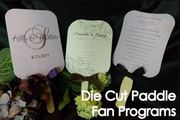 Buy custom Wedding fans online with a reasonable price